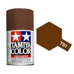 Tamiya TS-1 Red Brown Spray Lacquer